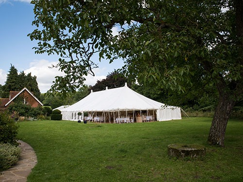 Traditional Marquees by Manor Hire