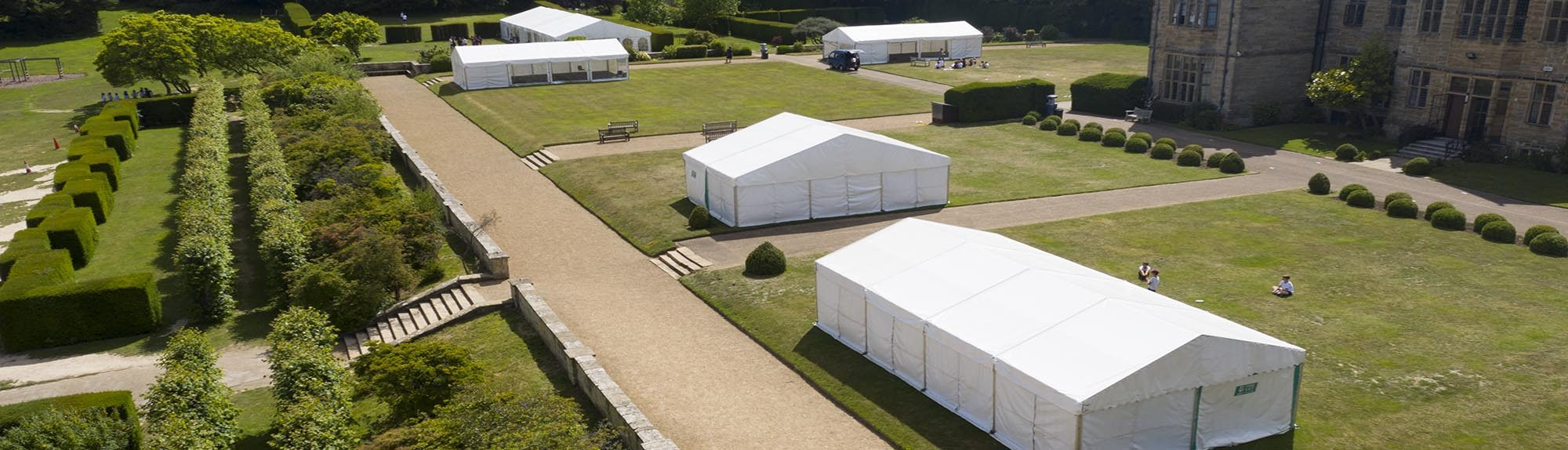 Temporary Classrooms Frame Marquees